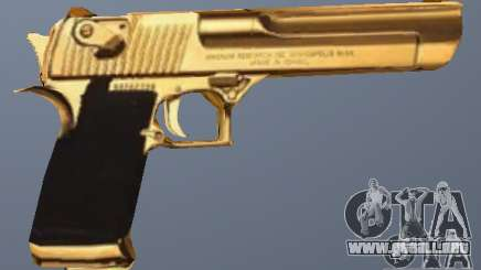 Golden Desert Eagle para GTA San Andreas