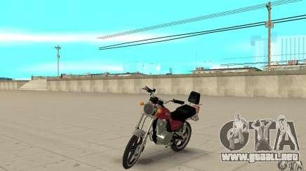 Suzuki Intruder 125cc para GTA San Andreas