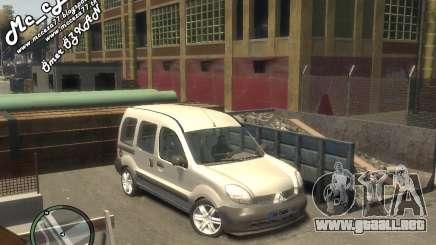 Renault Kangoo 2007 para GTA 4