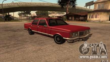 Regal 1987 San Andreas Stories para GTA San Andreas