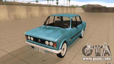 Fiat 125p para GTA San Andreas