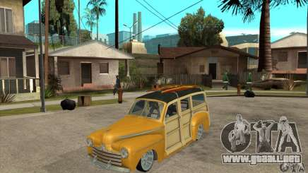 Ford Woody Custom 1946 para GTA San Andreas