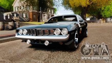 Plymouth Cuda 1971 [EPM] Mopar para GTA 4