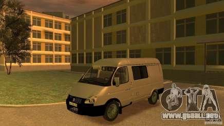 GAZ 2752 Sobol para GTA 4