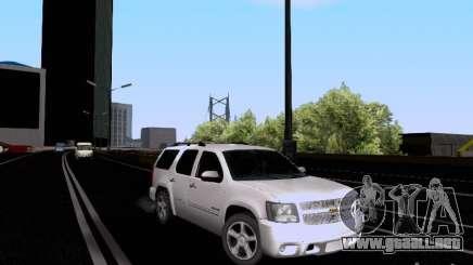 Chevrolet Tahoe LTZ 2013 para GTA San Andreas