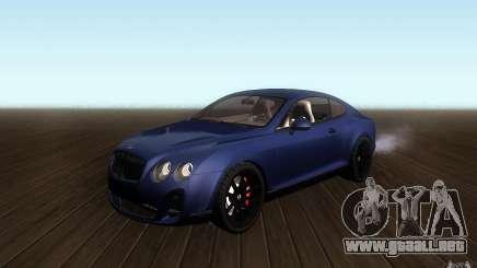 Bentley Continental SS para GTA San Andreas