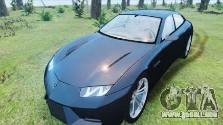Lamborghini Estoque para GTA 4