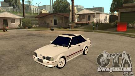 Ford Escort XR3 1992 para GTA San Andreas