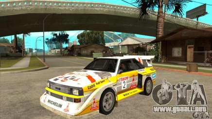 Audi Quattro S1 Group B para GTA San Andreas