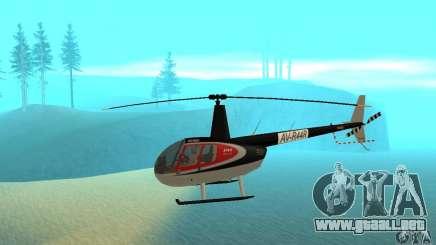 Robinson R44 Raven II NC 1.0 piel 2 para GTA San Andreas