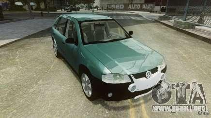 Volkswagen Gol G4 Rallye para GTA 4