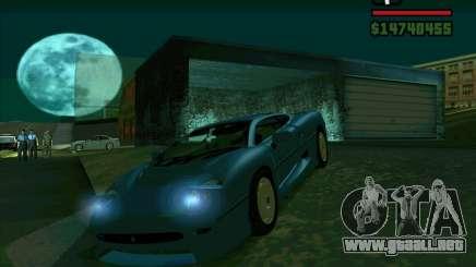 Jaguar JXJ 220 para GTA San Andreas