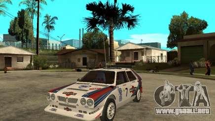 Lancia Delta S4 Martini Racing para GTA San Andreas