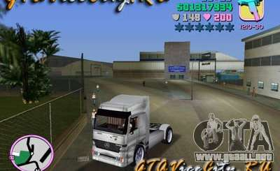 Mercedes-Benz Actros para GTA Vice City