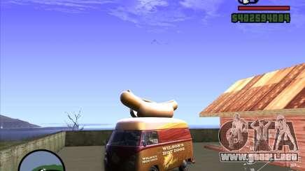 Volkswagen Transporter T1 Hot Dog para GTA San Andreas