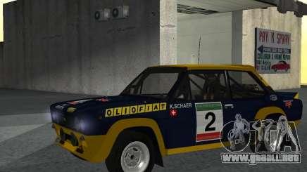 Fiat 131 Rally para GTA San Andreas