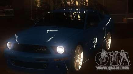 Shelby Mustang 2009 para GTA San Andreas
