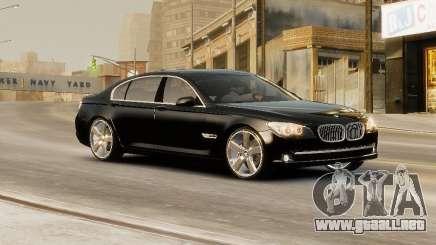 BMW 750 LI 2010 para GTA 4