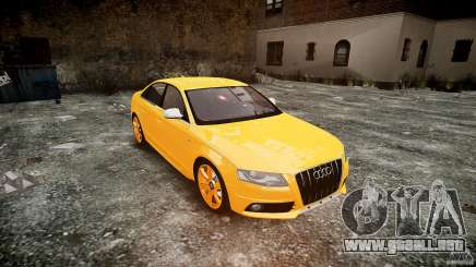 Audi S4 2010 Oliva para GTA 4