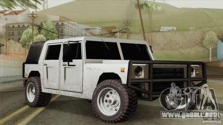 New Patriot HQ para GTA San Andreas