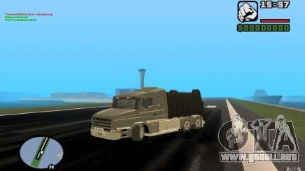 Camión Scania T164 para GTA San Andreas