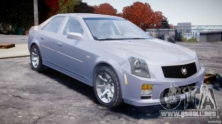 Cadillac CTS para GTA 4