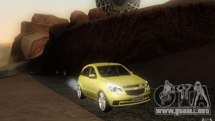 Chevrolet Agile 2012 para GTA San Andreas