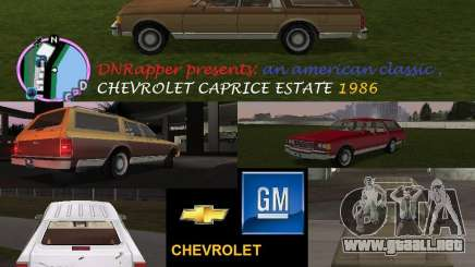 Chevrolet Caprice Estate 1986 para GTA Vice City