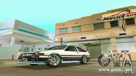 Toyota Trueno AE86 4type para GTA Vice City