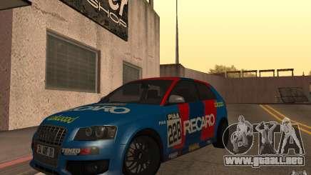 Audi S3 Tunable para GTA San Andreas