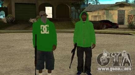 Nueva familia para GTA San Andreas