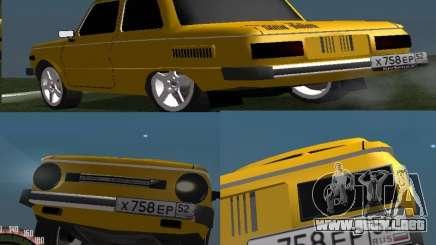 ZAZ 968 para GTA San Andreas
