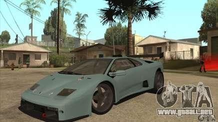 Lamborghini Diablo GT-R para GTA San Andreas