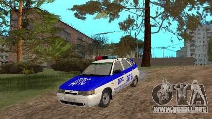 VAZ 21124 DPS para GTA San Andreas