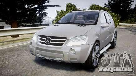 Mercedes-Benz ML63 AMG v2.0 para GTA 4