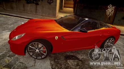 Ferrari 599 GTB para GTA 4
