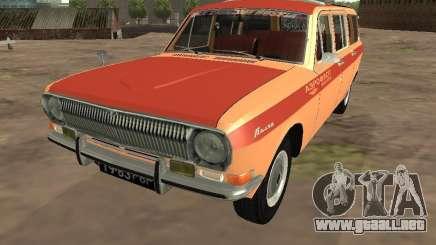 Volga GAZ-24 AEROFLOT 02 para GTA San Andreas