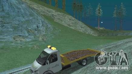 GAZ 3302 2003-2011. Camión de remolque para GTA San Andreas