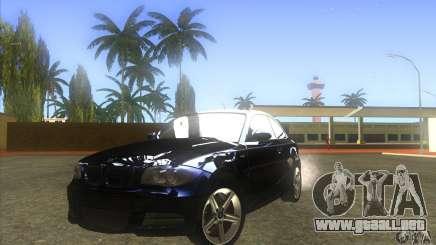 BMW 135i (E82) para GTA San Andreas