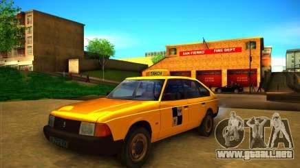 Taxi AZLK 2141 para GTA San Andreas