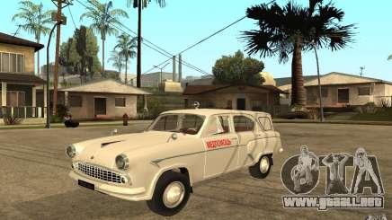 Moskvitch 423 m ambulancia para GTA San Andreas
