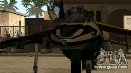 Camuflaje para Hydra para GTA San Andreas