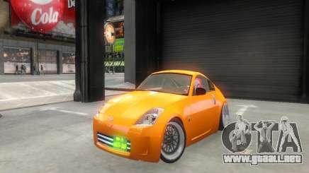 Nissan 350Z para GTA 4
