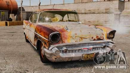 Chevrolet Bel Air 1957 Rusty para GTA 4