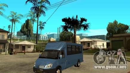 Ruta de gacela para GTA San Andreas