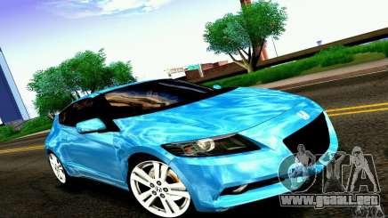 Honda CR-Z 2010 V2.0 para GTA San Andreas