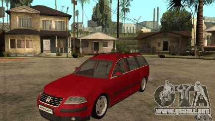VW Passat B5+ Variant para GTA San Andreas