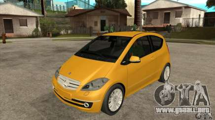 Mercedes Benz A200 Turbo 2009 para GTA San Andreas