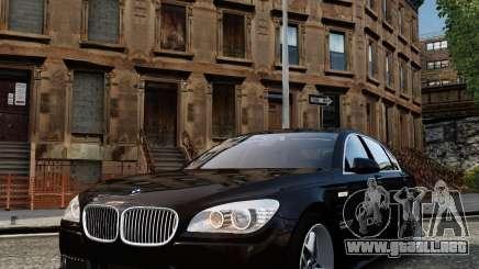 BMW 750Li (F02) Hamann 2010 v2.0 para GTA 4