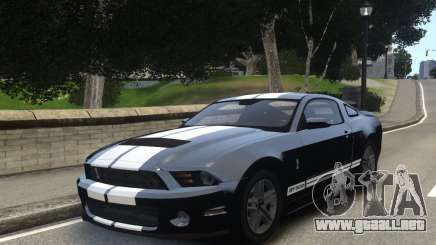 Ford Shelby GT500 2010 WIP para GTA 4